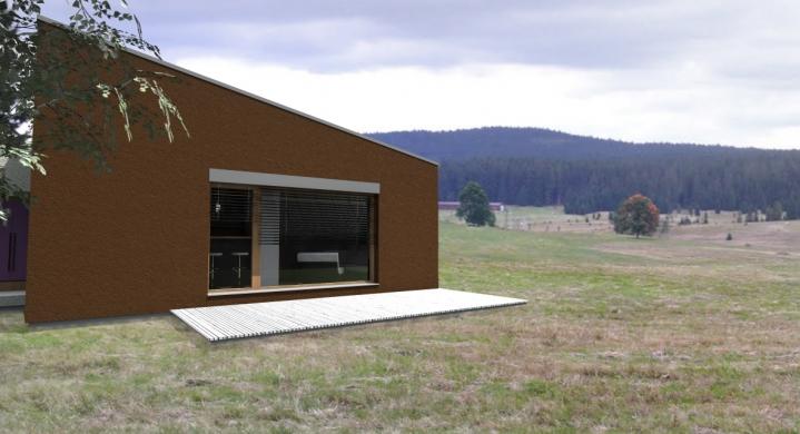 Mini project house s r o projekt rodinn ho domu for Mini ferienhaus