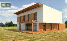 projekty - Pasivní dvougenerační rodinný dům