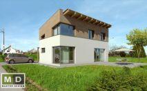 projekty - Malý nízkoenergetický rodinný dům