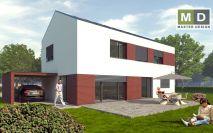 projekty - Pasivní rodinný dům