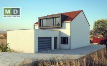 projekty - Patrový dům s vikýřem