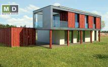 projekty - Dům s balkónem