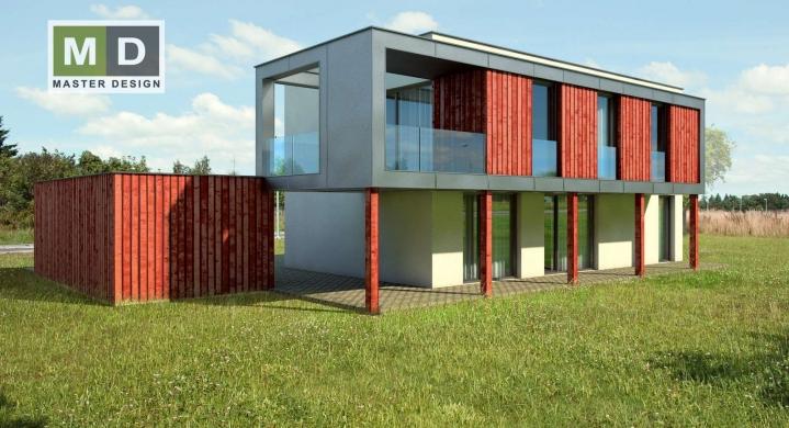 Dům s balkónem