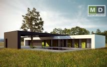 Bungalovy - projekty - Dům s trojgaráží