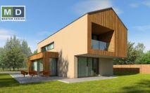 projekty - Dům se sedlovou střechou