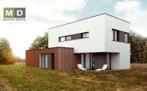 projekty - Dům s venkovním schodištěm