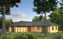 Bungalovy - projekty - Dům M5