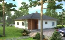 Bungalovy - projekty - Dům M7