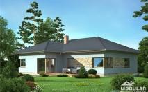 Bungalovy - projekty - Dům M17