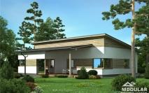 Bungalovy - projekty - Dům M18