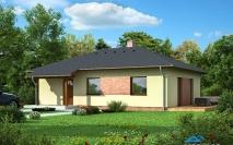 Bungalovy - projekty - Dům M20